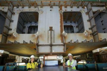 ASC Shipbuilding laid keel of Australia's 2nd Arafura-class OPV
