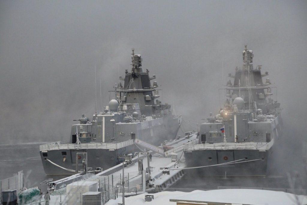 Admiral Gorchkov and Admiral Kassatonov
