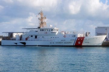 Bollinger delivers 38th Fast Response Cutter to the USCG