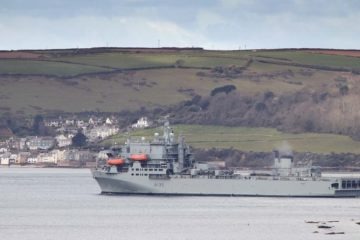 British Casualty Ship RFA Argus dispatched to support the Caribbean region
