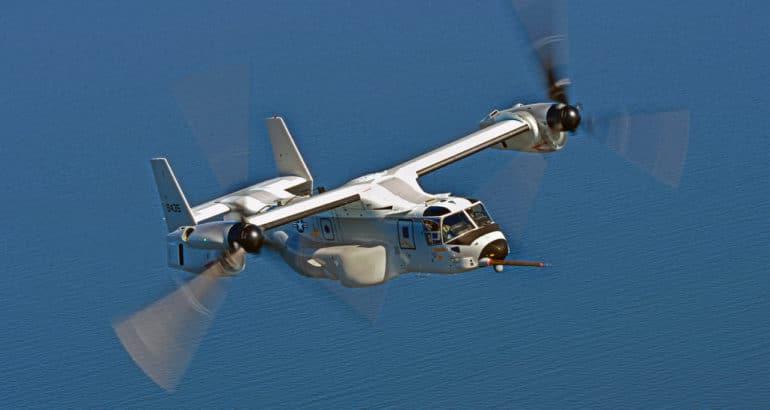 CMV-22B Osprey COD Boeing US Navy