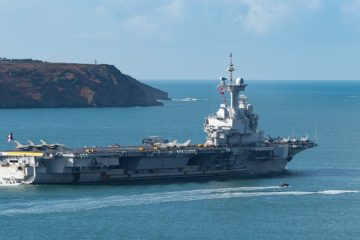 Confirmed: 50 Covid-19 Cases Aboard French Navy's Aircraft Carrier