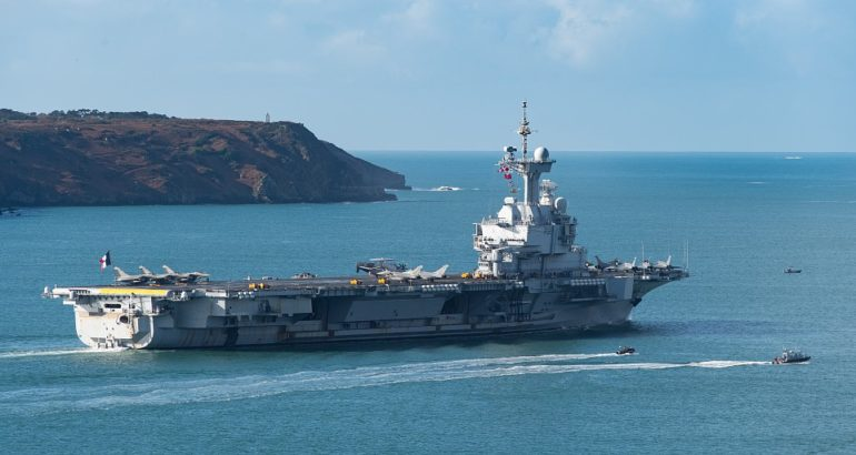 Confirmed 50 Covid-19 Cases Aboard French Navy's Aircraft Carrier