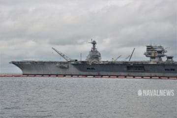 Data Link System From USS Enterprise to Be Installed on Future USS JFK