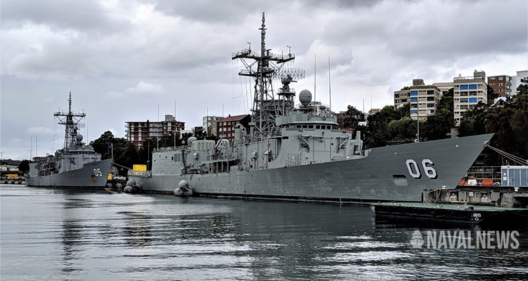 Ex-RAN Adelaide-class frigates commissioned with the Chilean Navy