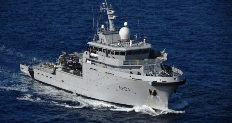 French Navy Final d'Entrecasteaux-class BSAOM vessel 'Dumont d'Urville' Enters Active Service