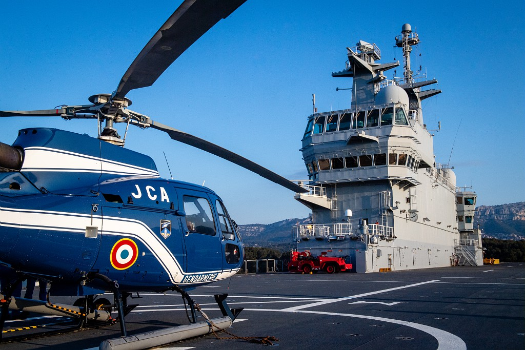 French Navy LHD Dixmude Set Sails for Covid-19 Relief Mission in the Caribean 2