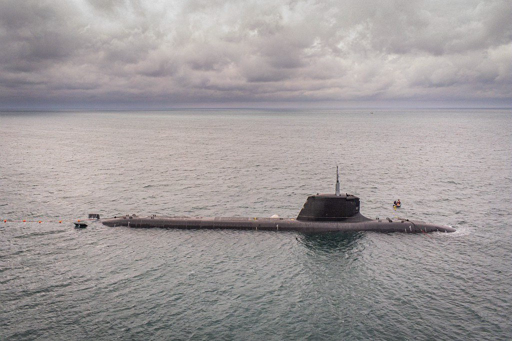 French Navy SSN 'Suffren'