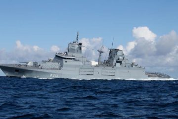 German Navy's Baden-Württemberg frigate completes extreme weather tests in South Atlantic