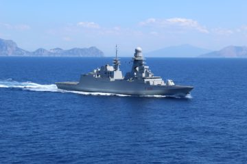 Italian Navy Deploys Frigate to the Gulf of Guinea while French Navy Suspends Patrol Mission