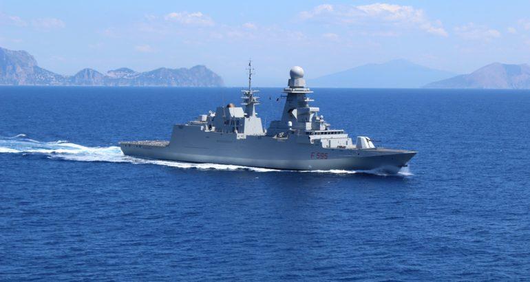 Italian Navy FREMM frigate