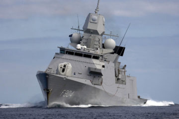 Leonardo to Supply New 127mm Main Guns for Netherlands Navy's LCF Frigates