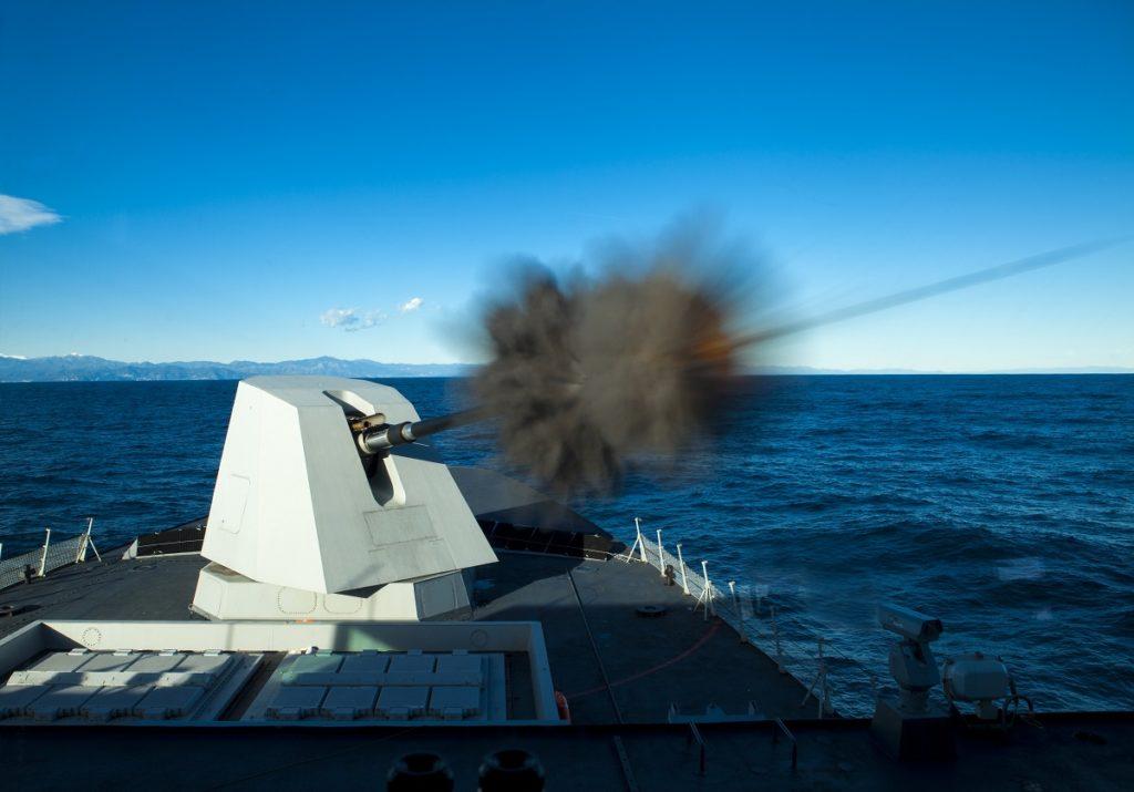 Leonardo_Naval gun 127 mm