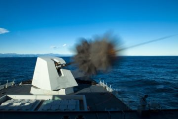 Leonardo Comments Dutch MoD Contract Award for 127mm Naval Guns