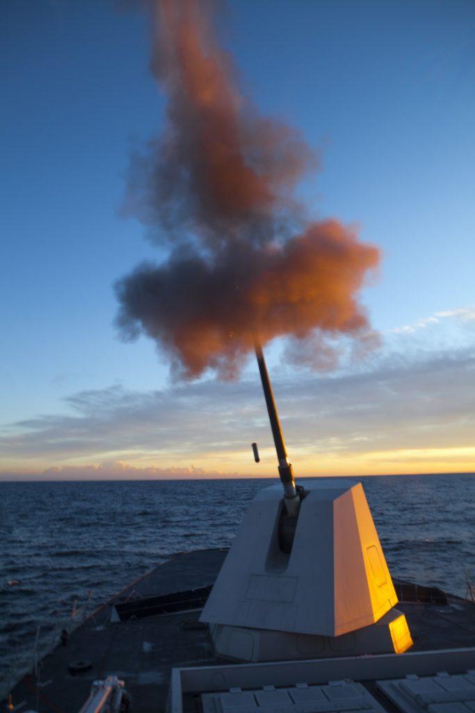 Leonardo_Naval gun 127 mm_