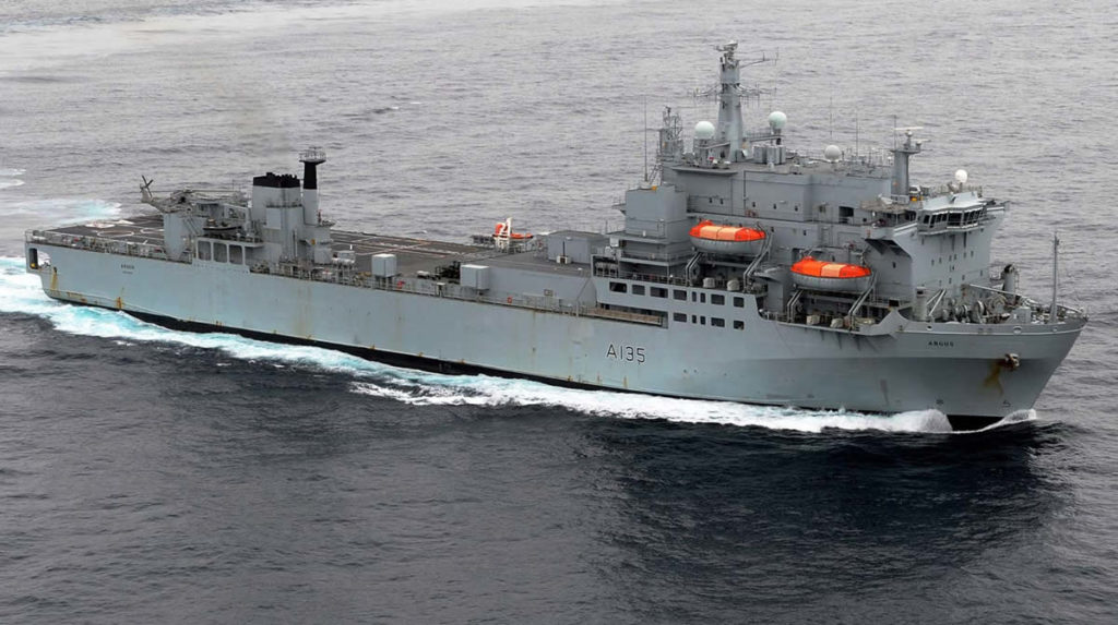 RFA Argus Royal Fleet Auxiliary