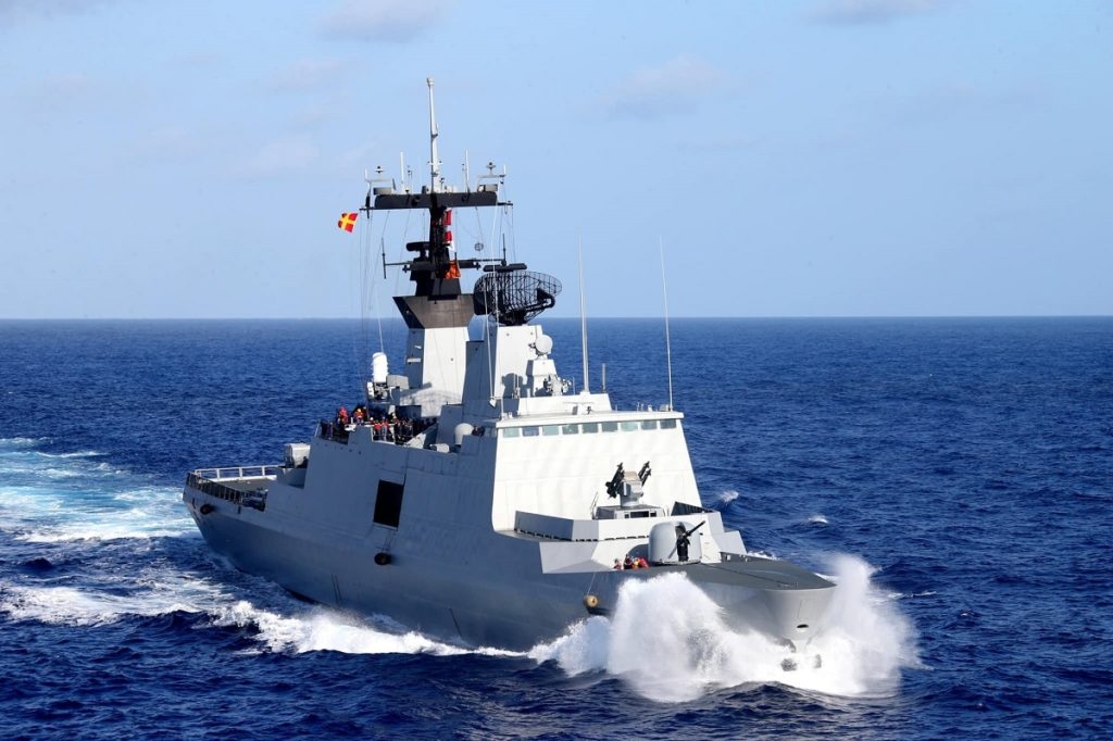 Kang Ding-class frigate underway. ROC Navy picture