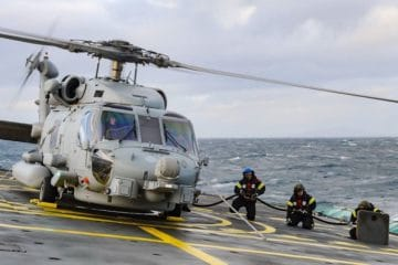 Royal Danish Navy enhancing MH-60R helicopters ASW capabilities