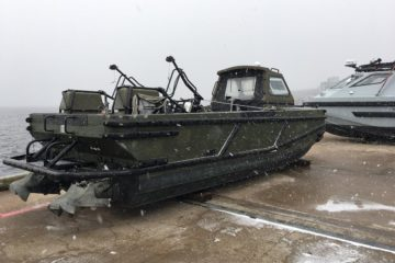 Royal Navy's autonomous minesweeper proves it capabilities in cold-weather trials
