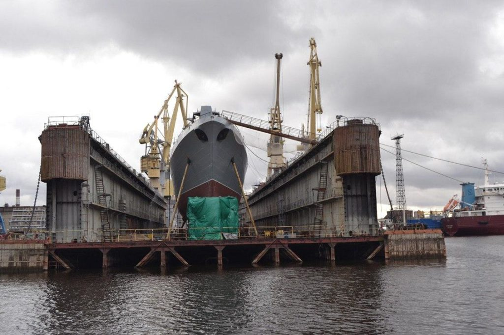 Russia's 3rd Project 22350 Frigate 'Admiral Golovko' to be Launched Soon