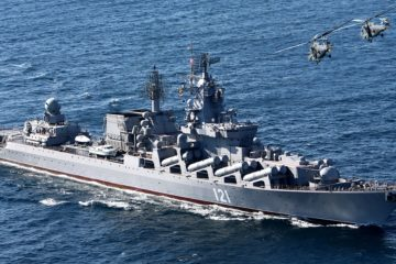 Russian Navy Slava-class Cruiser Moskva to Return in Service in May