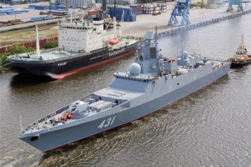 Russia's Second Gorshkov-class Frigate Completes Acceptance Trials