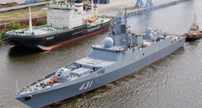 Admiral Kasatonov frigate