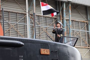 Third Class 209/1400mod submarine officially handed over to Egypt