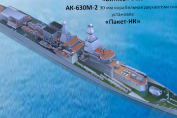 Russian Navy's Slava-class Cruiser To Get New Weapons