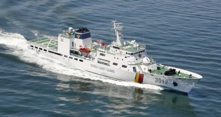 Two more 3,000 tons Patrol Vessels for the Korea Coast Guard Fleet 1