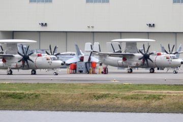 Two more E-2D Advanced Hawkeye delivered to Japan