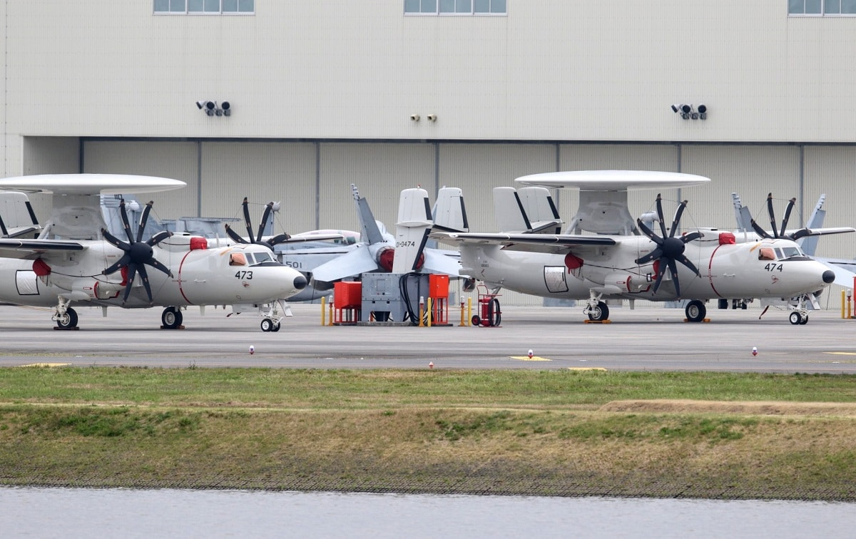 Two more E 2D Advanced Hawkeye delivered to Japan 1.