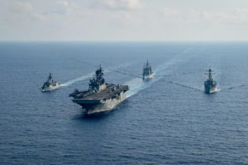 U.S. Navy & Royal Australian Navy Team Up In The South China Sea