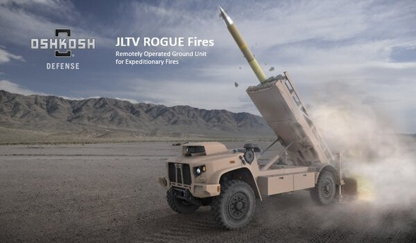 JLTV ROGUE Fires NSM USMC
