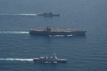 Eisenhower Strike Group Participates in Interoperability Exercises with French Navy
