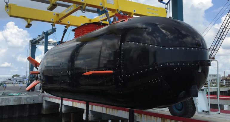 USSOCOM Accepts Dry Combat Submersible with LIFT Batteries 1