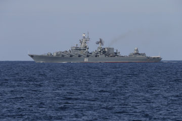 Russia's Pacific Fleet Integrates Components into Single Force