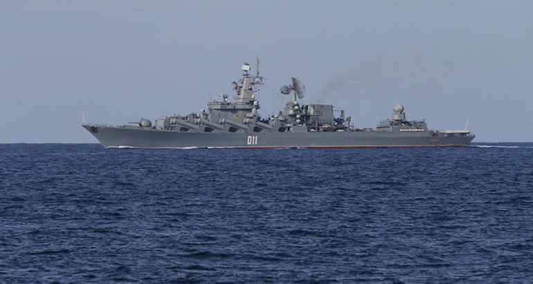 Varyag cruiser Russian Navy Pacific Fleet