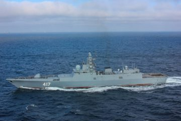 Three Project 22350 Frigates to Join Russia's Pacific Fleet