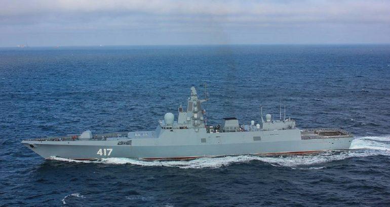 Project 22350 'Admiral Golovko' frigate