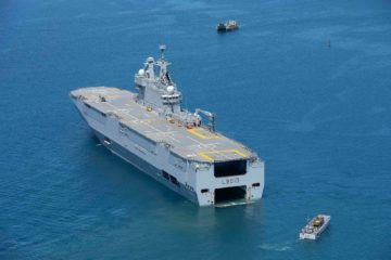 French Navy LHD and Frigate Join Operation Atalanta