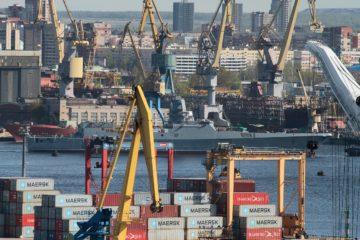 Severnaya Shipyard Launched 3rd Gorshkov-class Frigate for Russian Navy