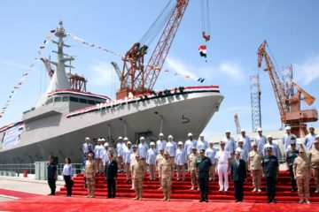 Egyptian Navy's Final El Fateh-class Corvette 'Luxor' Launched by Alexandria Shipyard