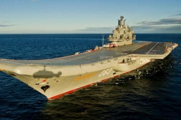 Russia's Aircraft Carrier Admiral Kuznetsov to be ready for trials by fall 2022