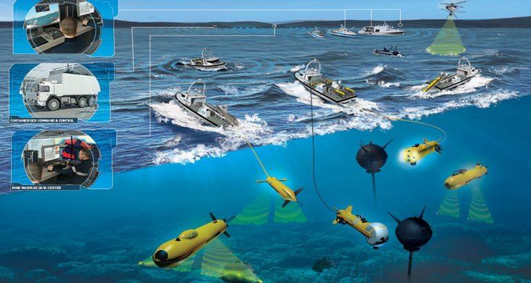 ECA Group wins €20 million contract to modernize in-service mine warfare robots