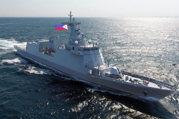 Future Philippine Navy Frigate BRP 'Jose Rizal' Sails Home for Commissioning