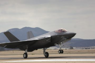 F-35Cs arrive at Marine Corps Air Station 'Miramar'
