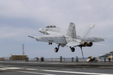 U.S. Navy & NAVAIR Fix F/A-18 and EA-18G Arresting Hook Shortfall