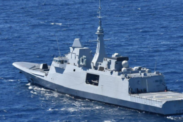 "French Navy's FREMM Frigate ""Languedoc"" joins AGENOR operation"