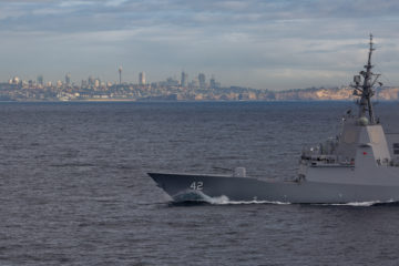 Final Air Warfare Destroyer 'HMAS Sydney' Commissioned in the Royal Australian Navy